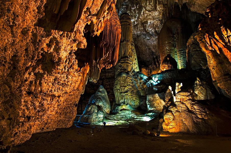 Su Marmuri caves