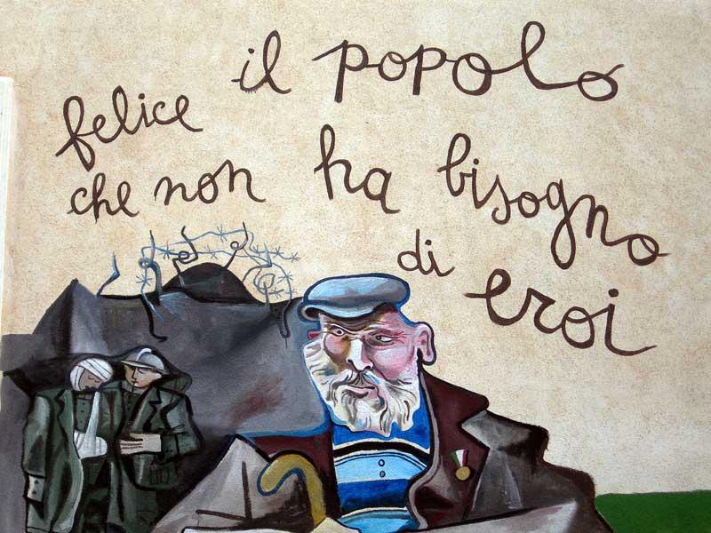 Orgosolo the town of murals