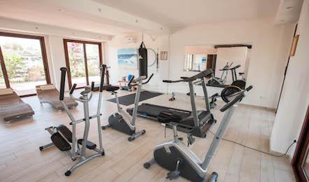 Serviceleistungen im Hotel: Fitnessstudio